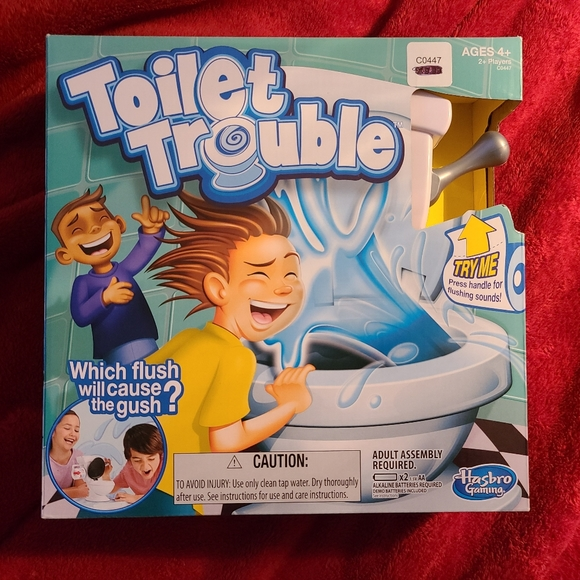 Other - Toilet Trouble (bundle buy 3\$12)